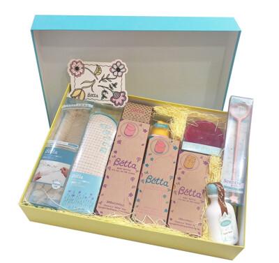 BETTA BRAIN 期間限定 紀念款 仿母乳食感新生兒禮盒組 奶瓶套裝 送禮自用超值組 (7.1折)