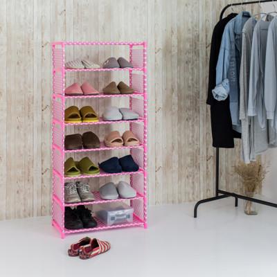 鞋架 鞋櫃 DIY組合鞋架 簡約八層鞋架 (3.1折)