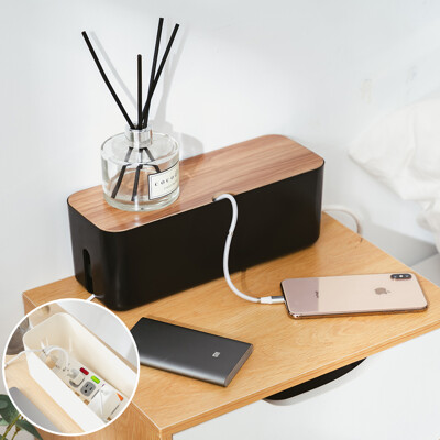 樂嫚妮 插座盒/集線盒子/電線收納盒/線材收納/推薦-S號-(2色)