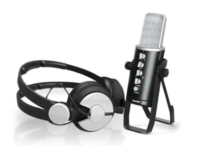 舒伯樂 Superlux E431U USB麥克風 Podcast 套組 總代理公司貨 (10折)