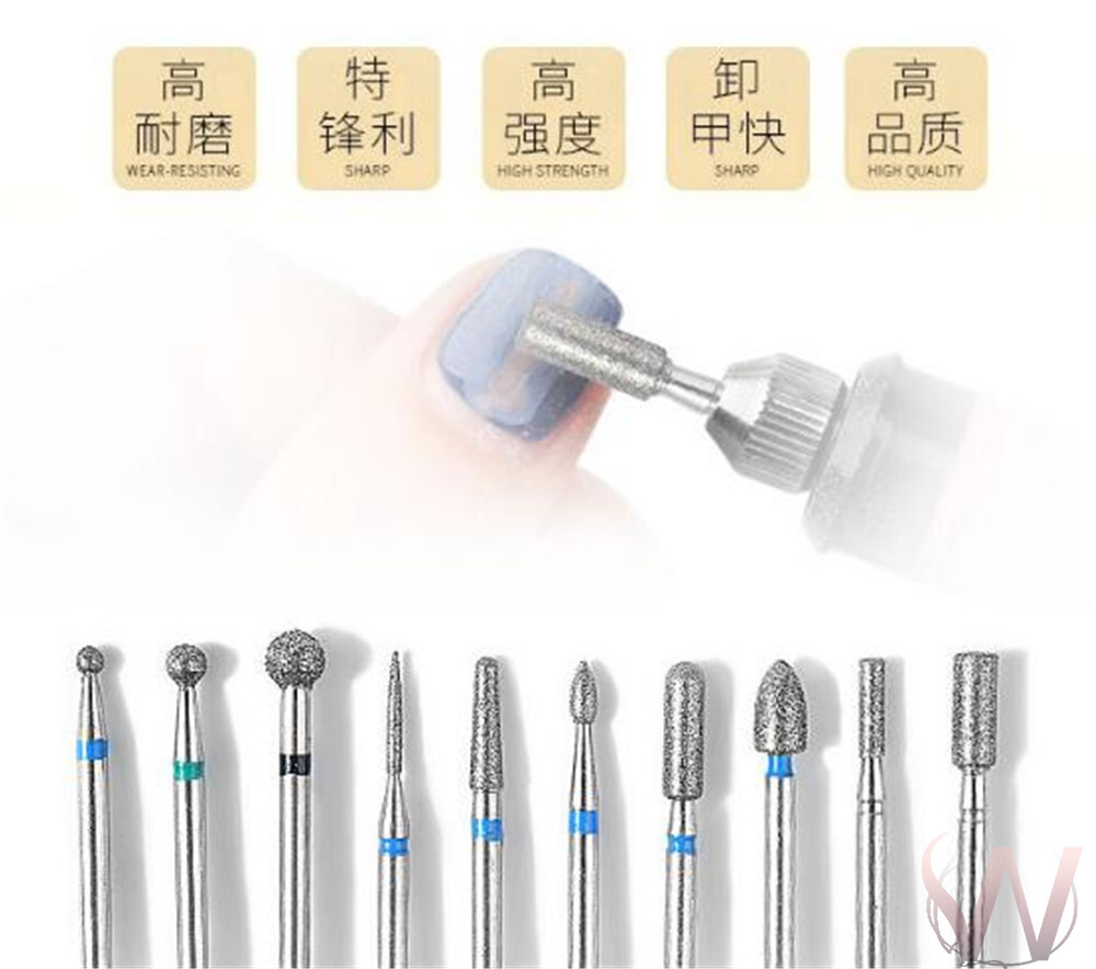 耐磨鎢鋼 合金打磨頭zh-03 拋光工具 附盒子 打磨機 打磨頭   專用磨頭刷a-59