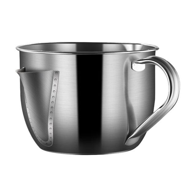 超便利304不鏽鋼油水分離濾油碗壺