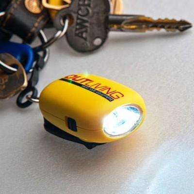 LED迷你手電筒-LED鑰匙圈-義大利outliving轉轉亮 (6折)
