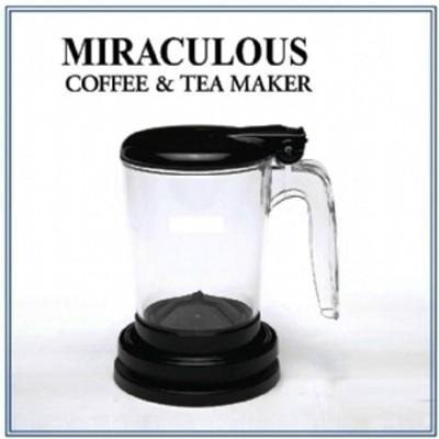 咖啡茶葉沖泡器-handybrew魔力沖泡壺 外銷版 (黑) (5折)