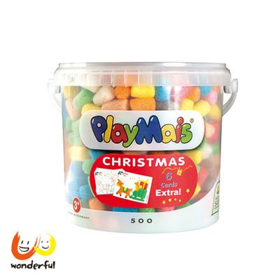 德國Playmais玩玉米創意黏土耶誕隨身桶 (9折)