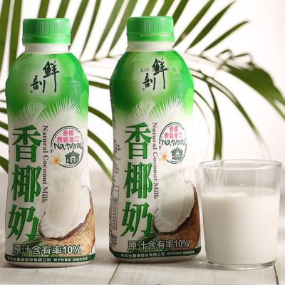 【半天水】鮮剖香椰奶〈600ml/瓶〉 (5.8折)
