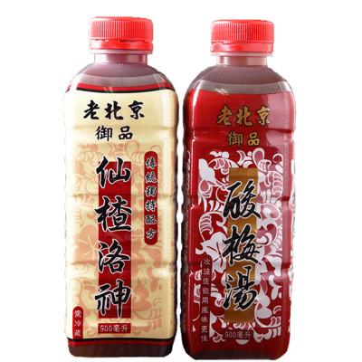 【老北京】御品酸梅湯、仙楂洛神任選(900ml/瓶) (6.8折)