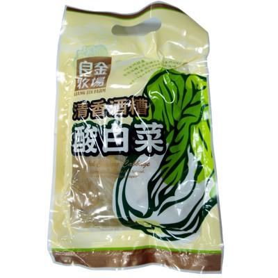 【金門良金牧場】金門高粱酒糟清香酸白菜(600g/包〉 (6折)