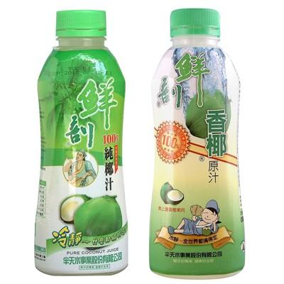 【半天水】100%鮮剖純椰汁、香椰原汁任選〈600ml/瓶〉 (6.5折)