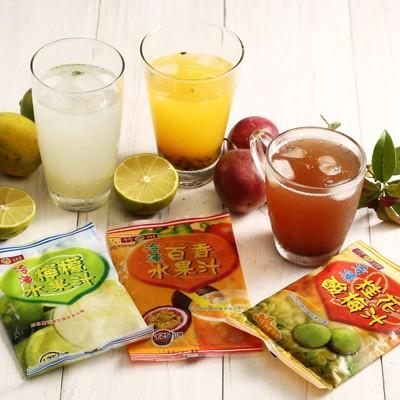 【一等鮮】冷凍百香水果汁/檸檬水果汁/桂花酸梅汁任選〈135g/包〉 (5.8折)