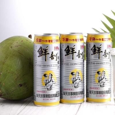 【半天水】黃金版100%鮮剖純椰子汁(520ml/瓶) (6.5折)