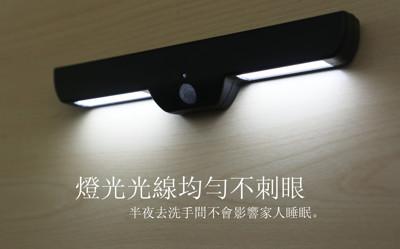 超省電長條LED人體感應燈(NL-129) 2入/組 (1.5折)