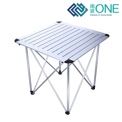 鋁合金折疊桌 ◆ 【戶外收納款】贈收納袋 超輕盈 橡膠桌腳 (7.5折)