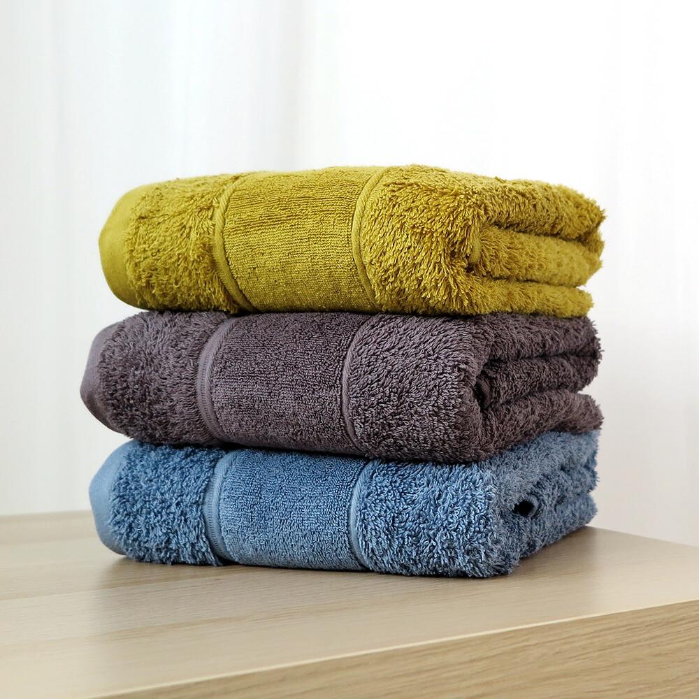 星紅毛巾蓬鬆系列 - 加厚款簡約歐風浴巾