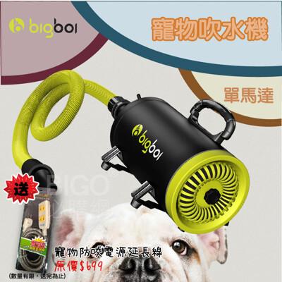 防疫清潔 bigboi MINI 寵物單馬達吹風機 送寵物防咬延長線 手持 延長線 寵物 吹水 車用 (5.7折)