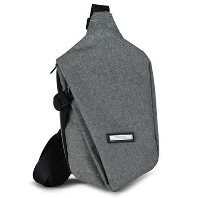 【義大利Selene】菱形時尚牛津布 胸包 肩背包/斜背包/前背包/後背包/休閒包 (3.4折)