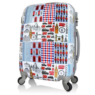 【AoXuan】翻玩倫敦20吋PC輕量耐摔行李箱/旅行箱/登機箱 (1.9折)