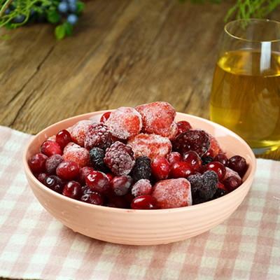 進口鮮凍花青莓果重量包9種任選-藍莓、覆盆莓、蔓越莓、黑醋栗、桑椹、波森莓、紅櫻桃、黑莓、草莓任選 (5折)