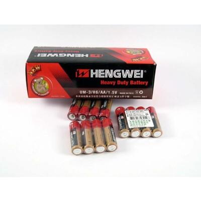 無尾熊3號電池Hengwei(UM-3/R6/AA/1.5V)3號無汞環保碳鋅電池/一盒60顆