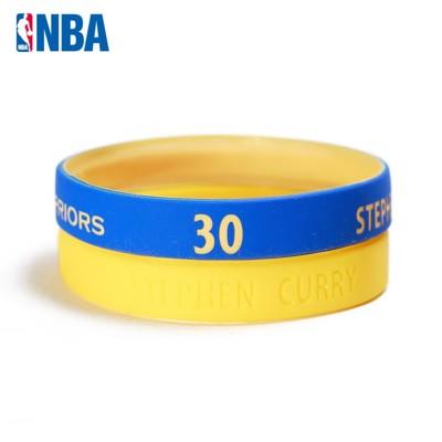 NBA官方授權正版 運動矽膠手環 - 舊金山金州勇士 柯里 Stephen Curry 30號 (7折)