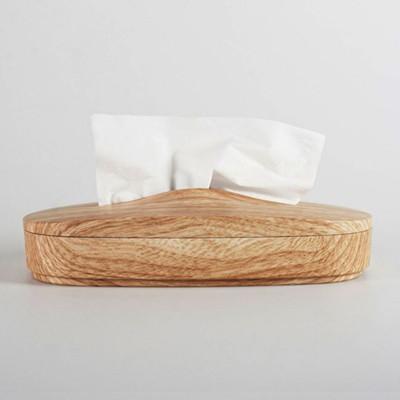 【台灣製造】神奇伸縮面紙盒(仿木紋) - 專利在案 仿冒必究 (9.8折)