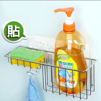 洗潔精菜瓜布壁掛架+送茶樹精油環保香氛清潔袋 15L(3卷裝/1包) (7.1折)