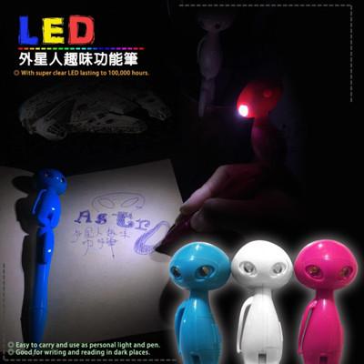 Double LED 外星人趣味功能筆 (附電池) (7.8折)