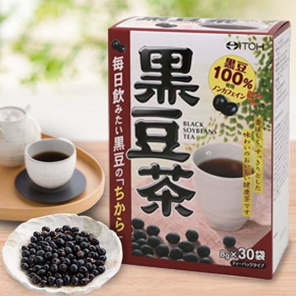 itoh 井藤漢方日本 100% 黑豆茶 8克30袋