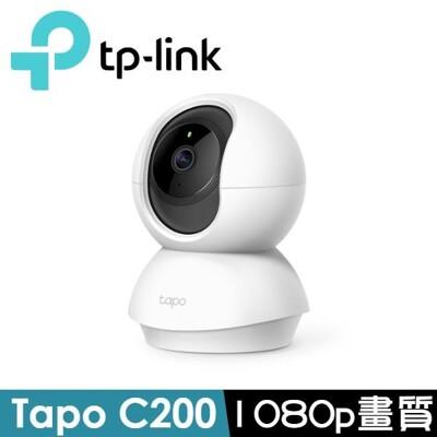 TP-Link Tapo C200 旋轉式家庭安全防護 Wi-Fi 攝影機 (6.5折)