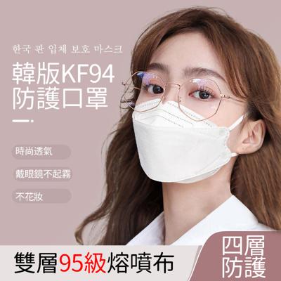 【免運】韓版KF94口罩 3D立體口罩 成人口罩 折疊口罩 魚形口罩 魚型口罩 口罩 (0.3折)
