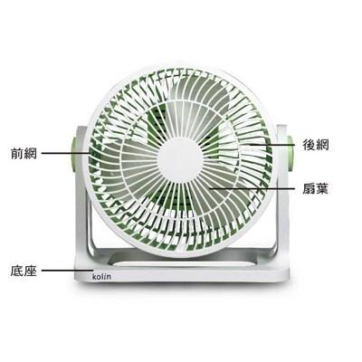 省您錢購物網 全新~歌林 kolin 8吋空氣循環扇(pa-fc800) +贈神奇魔力 去塵膠* (5.9折)