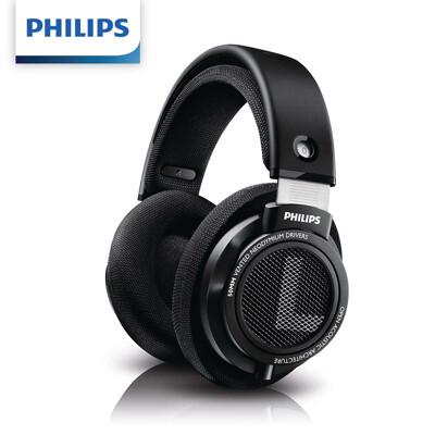 《省您錢購物網》全新~飛利浦PHILIPS HIFI有線頭戴式立體聲耳罩式耳機 (SHP9500) (5.3折)