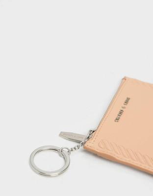 【直飛現貨 正品保證】小CK 壓紋滾邊卡夾 錢包(米色) CK6-50770360 皮夾 皮包DXP (5.5折)