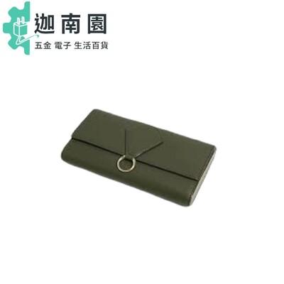 【直飛現貨 正品保證】小CK 拉環掀蓋長夾(橄欖色)錢包 CK6-10780933 皮夾皮包DYM (5折)