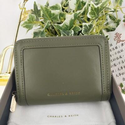 【直飛現貨 正品保證】小CK 拉環皮夾 錢包(橄欖色)CK6-10770380 皮夾 皮包DXT (7.5折)