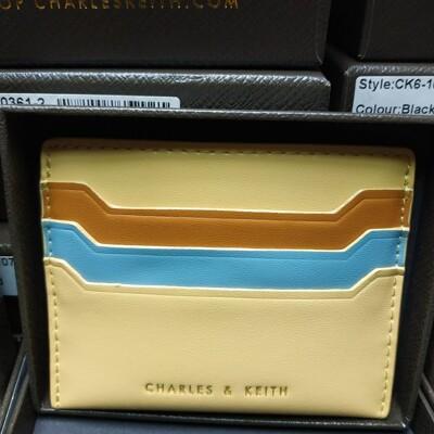 【直飛現貨 正品保證】小CK 混色票卡夾(黃色)錢包 CK6-50680739-2 皮夾 皮包DYF (6.9折)
