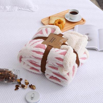 《單人款》法蘭絨毛毯雙層加厚羊羔絨秋冬沙發蓋毯 單雙人毛毯 (8.5折)