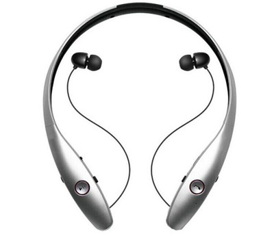 HBS900 頸戴式自動藍芽耳機(伸縮式耳機線設計) (2折)