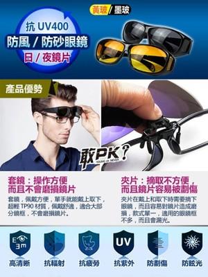 高清防風砂太陽眼鏡 (1.1折)