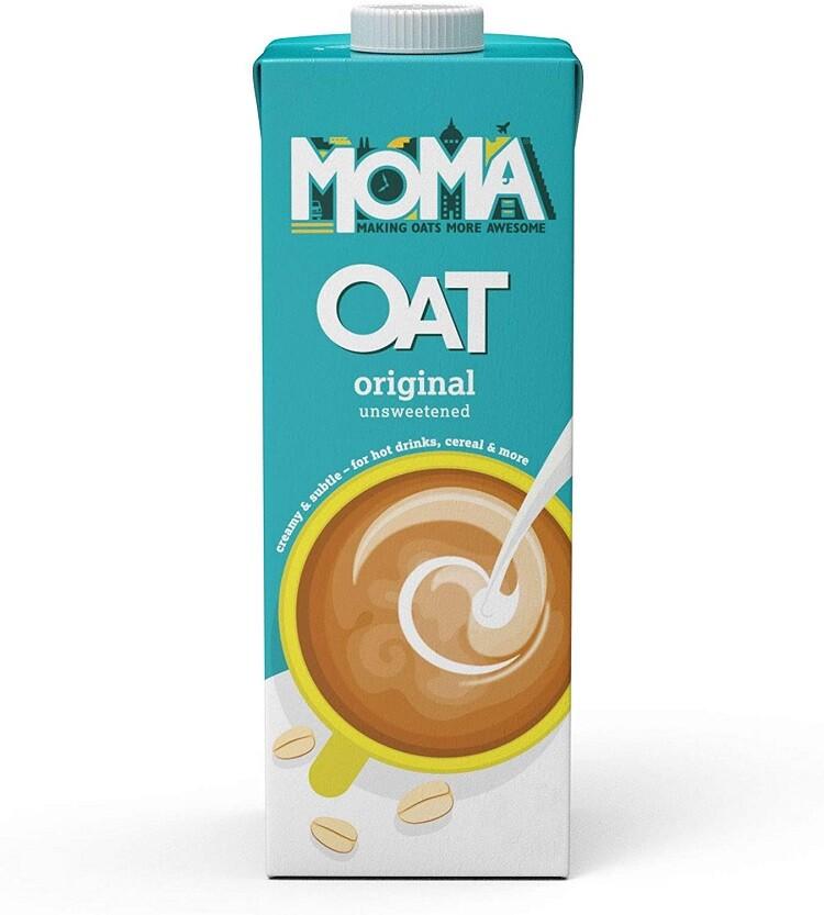 英國moma燕麥奶(燕麥原味)百搭的燕麥奶 1l