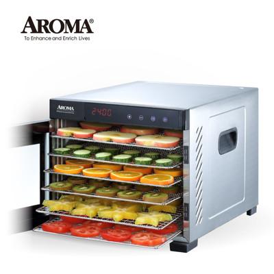 【美國 AROMA】 全金屬六層乾果機 食物乾燥機 果乾機 AFD-965SD (6.7折)