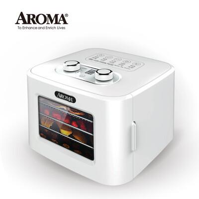 【美國 AROMA】四層溫控乾果機 果乾機 食物乾燥機 烘乾機 贈彩色食譜 AFD-310 (8.7折)