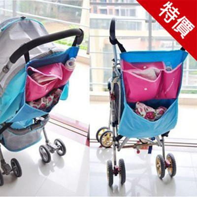 野餐 嬰兒手推車防水牛津布置物袋 媽咪包 收納袋【AF03035】 (3.7折)