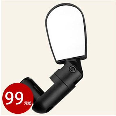 迷你可調自行車黑色後視鏡 後照鏡 (1個裝)【AE10361】 (3.3折)