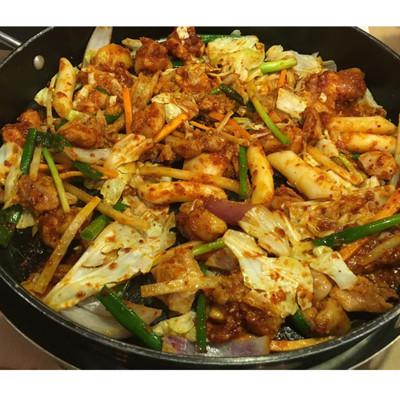 韓式起司春川辣炒雞 (5.5折)