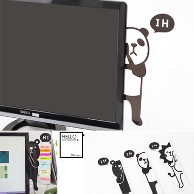 韓國創意文具螢幕側邊便利貼留言板 (6.9折)