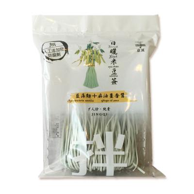 一步一腳印報導無毒日曬米豆簽(藍藻麵+麻油薑香醬) (5.9折)