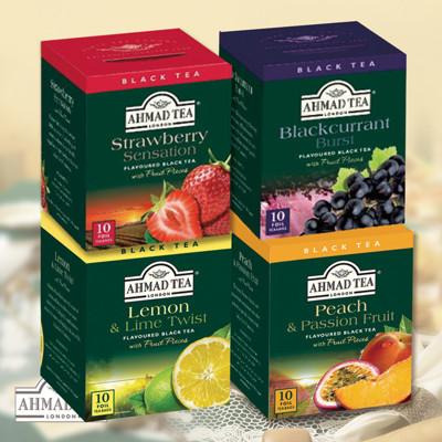 全球五大茶葉品牌英國百年暢銷水果紅茶(10入/盒) (5.1折)