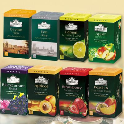 全球五大茶葉品牌英國百年暢銷紅茶(20入/盒) (7.7折)