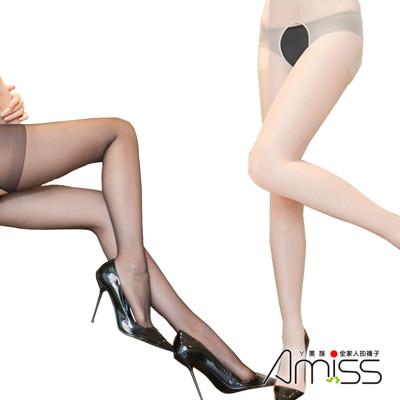 30D美肌透膚免脫雕空蕾絲邊褲襪 (6.7折)